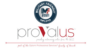 Provalus Earns 2021 Military Friendly® Employer Designation