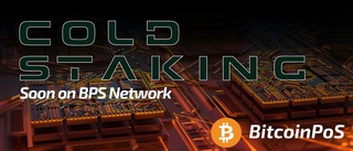 BitcoinPoS launches Cold Staking
