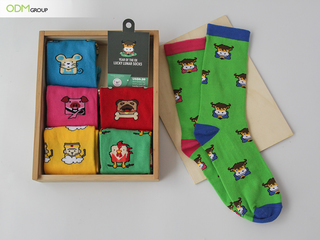 The ODM Group Partners With Christina Noble Children's Foundation For 2021 Lucky Lunar Socks-Year Of The Golden Ox