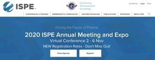 ESC Participates in 2020 ISPE Annual Meeting and Expo - Virtual Conference