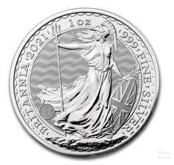 JM Bullion Showcases the 2021 Silver Britannia Coin with New Security Technology