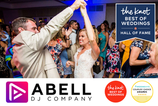 Abell DJ Company Named Winner of The Knot Best Of Weddings 2021 in St Louis MO for Top DJs