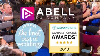 Award Winning Abell DJ Company, LLC Named 2018 Winner In The Knot Best Of Weddings  & WeddingWire Couples' Choi…