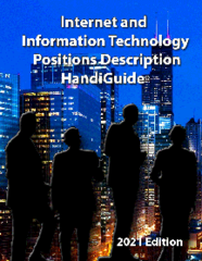 Janco releases the 2021 Edition of its Internet and IT Position Description HandiGuide