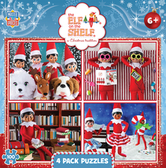 MasterPieces Adopts The Elf on the Shelf for Puzzles and Games