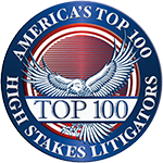 Personal Injury Attorney Richard M. Kenny has been selected among America's Top 100 High Stakes Litigators for 2021…