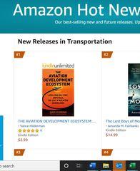 "Vance Hilderman's new ""Aviation Development Ecosystem"" Book Debuts #1 On Amazon!"
