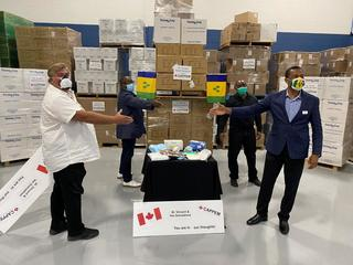 MPC & Sterling Industries along with CAPPEM To Send Protective PPE To The Carribean Island of St Vincent