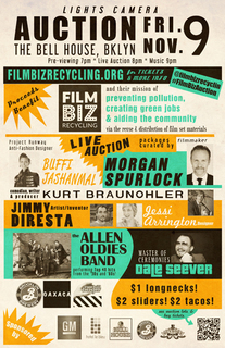 Lights! Camera! Auction! a benefit bash for Film Biz Recycling