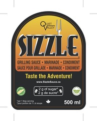 Sizzle Sauce Now Available in 50 Ontario-Based Stores and Growing
