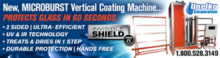 """Unelko Offers Innovative, Invisible Shield® """"Microburst"""" Glass Coating Machine"""