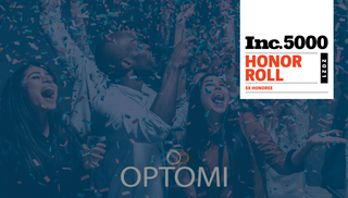 Optomi Professional Services Recognized by INC 5000 as a Fastest Growing Private Company