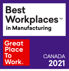 Molded Precision Components Recognized as a 2021 Best Workplace™ in Manufacturing