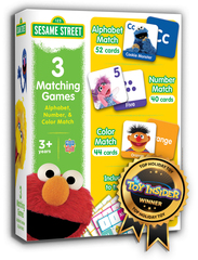 Accolades for MasterPieces' Sesame Street Product Line