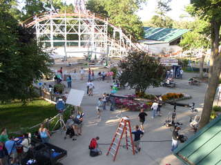 Famous Mid-western Amusement Park is primary location for new mystery/thriller; Carousel Of Revenge, which premieres on …