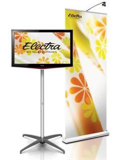Trade Show Emporium Introduces New LCD Stand