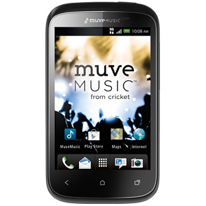 HTC Desire C with Muve Music from Cricket Wireless