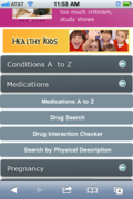 All of the features of KidsWorldMD at the touch of a button.