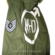 One of two Who parka's we sell.
