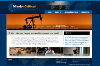 Mission Critical Psychological Services Launches New Website to Address Psychological Support of Civilian Contractors Wo…