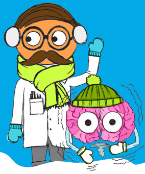 Prevent winter break brain drain with Brain Freeze! packets from ThinkStretch.