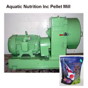 Pellet Mill used in Koi Food Manufacturing