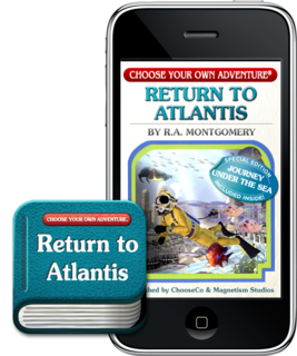 CHOOSE YOUR OWN ADVENTURE® LAUNCHES ON iPHONE®