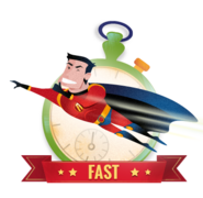 Admincredible is fast to use