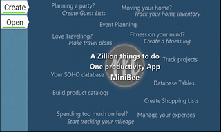 MiniBee: Now buzzing on your android tablet