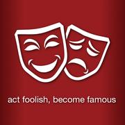 iACTaFOOL Logo - act foolish, become famous